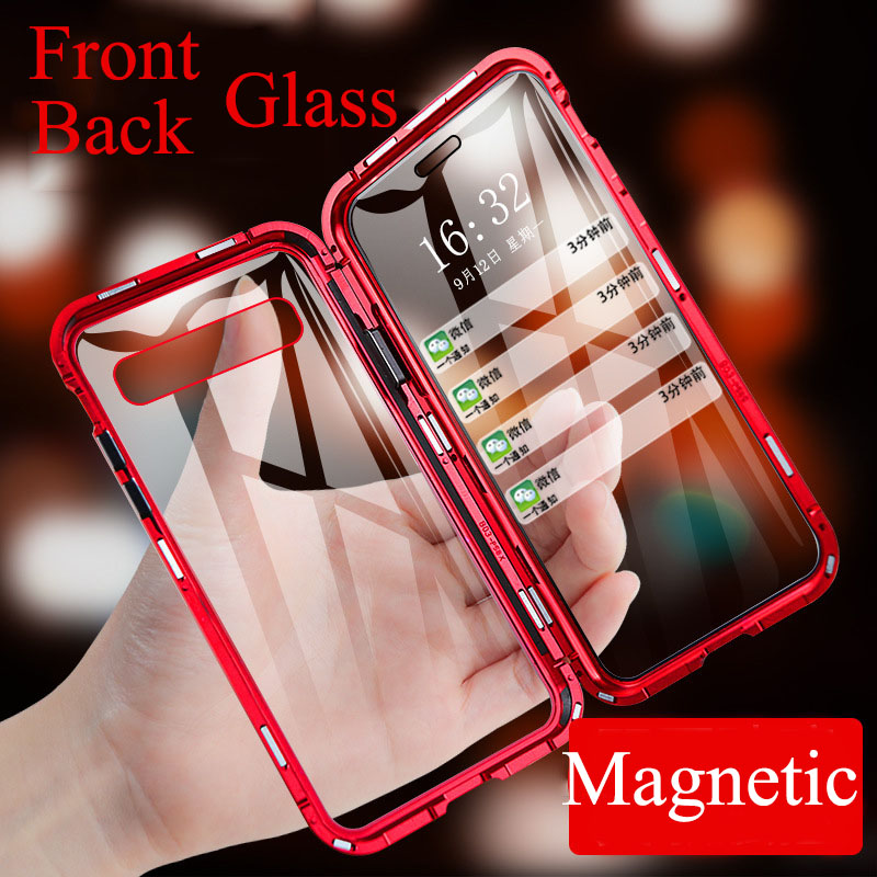Magnetic Metal Case For Samsung Galaxy A50 A80 A70 S10E S10 S8 S9 Plus Phone Cover For A10 A40 A30 A60 A20 M30S Note 8 9 Cover|Fitted Cases| |  - title=