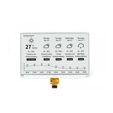 BlueRaven – écran 7.5 pouces e-ink 800x480, papier blanc noir, interface SPI compatible avec Raspberry Pi 2B/3B/3B +/Zero/Zero W