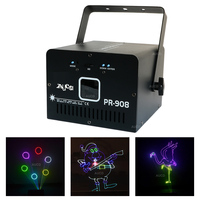 AUCD 500mW RGB Laser SD Card Program DMX Animation Scan Projector Lights Disco Party DJ Show Beam Moving Ray Stage Lighting SDF5