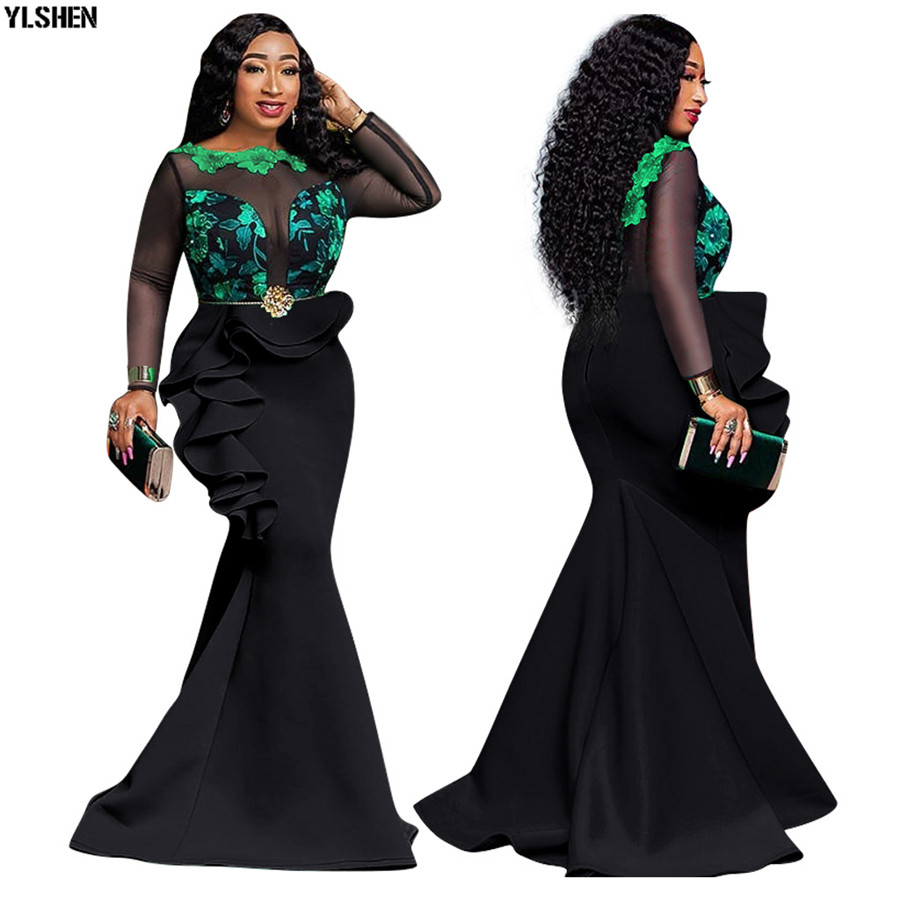 5 Colors African Dresses…