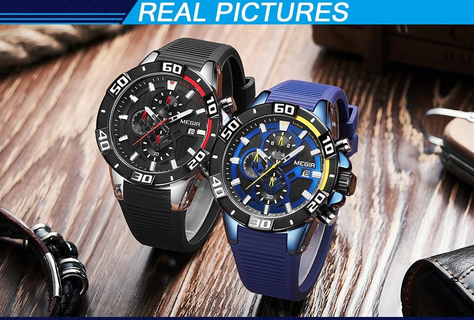 H4a8b7ca78cde4fa999d1ad52f48f8099h Sport Watch Silicone Quartz Military Watches