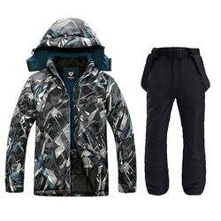 Waterdichte Jas Voor Mannen Skipak Mannen Snowboard Jas Mannelijke Ski Kleding Mannelijke Sport Jassen Plus Winddicht Jasje