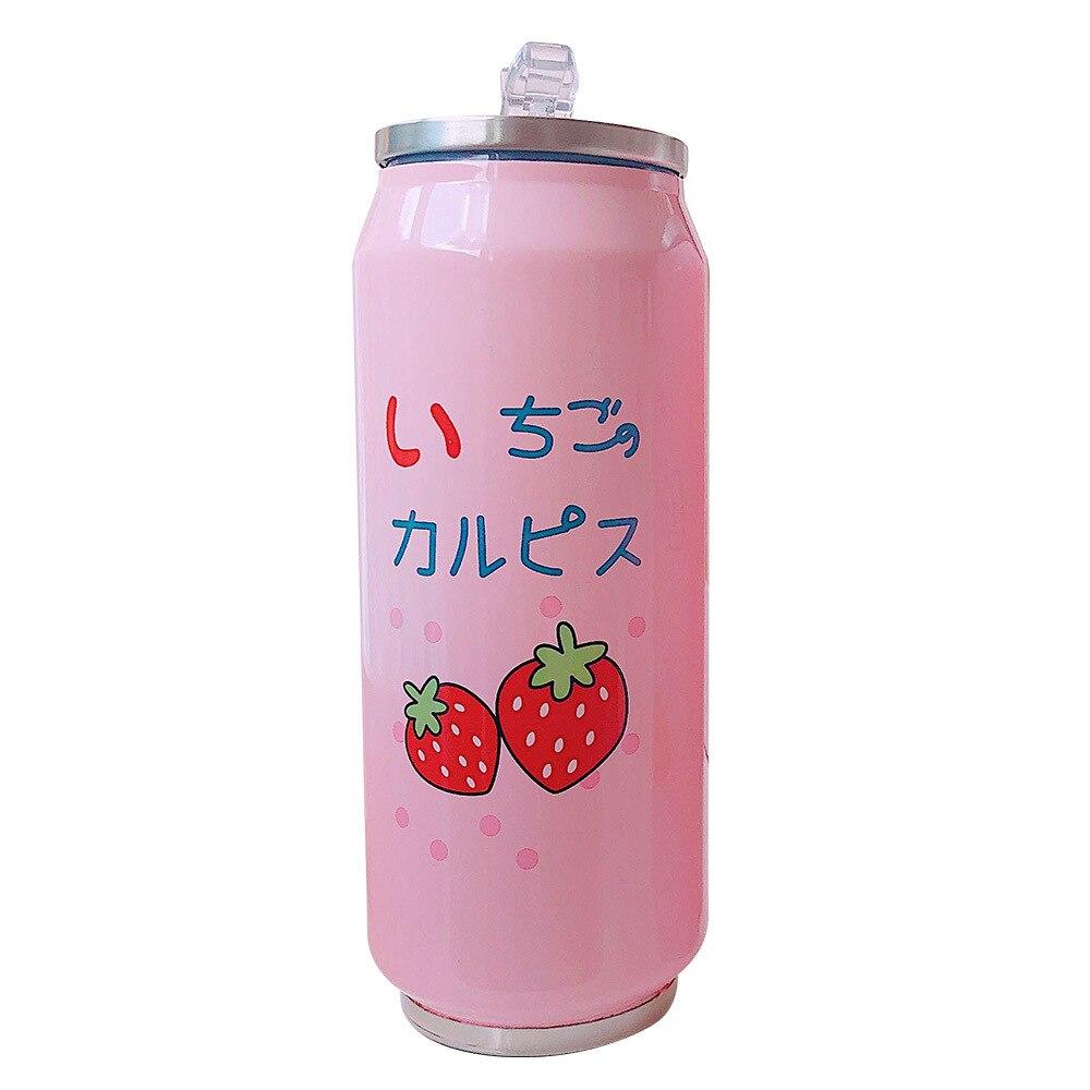 Kawaii Strawberry Vacuum Cup 5