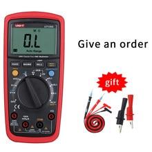 Multímetro Digital de alta precisión, valores eficaces verdaderos, rango automático, NCV, capacitancia de temperatura, frecuencia de 6000 de cuenta, LPF, UT139S, unidad UT139E