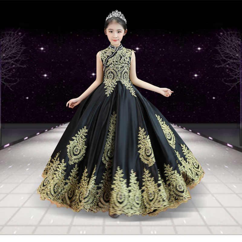 ウェディングドレス女の子のため vestidos デフィエスタ · デ · ノーチェ華やかな王女パーティー夜会服の女の子服初聖体子供衣装