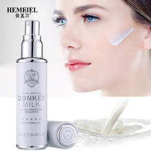 HEMEIEL Donkey Milk Whitening Essence 25ml Strong brighten emulsion Korean Facial Moisturizer Blemis