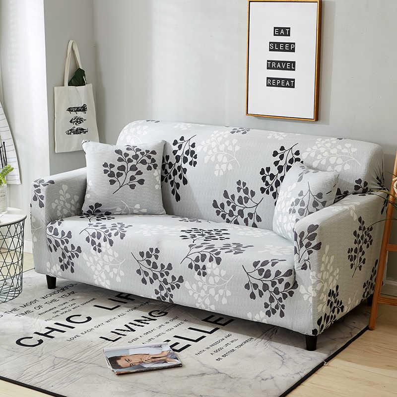 Peregangan Penutup Sectional Elastis Sofa Cover untuk Ruang Tamu Sofa Cover L Bentuk Kursi Cover Satu/Dua/ tiga Kursi