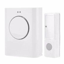 Doorbell Waterproof Wireless 433MHZ DoorBell 200M Remote Home MP3 Download Cordless Door Bell Ring  bell