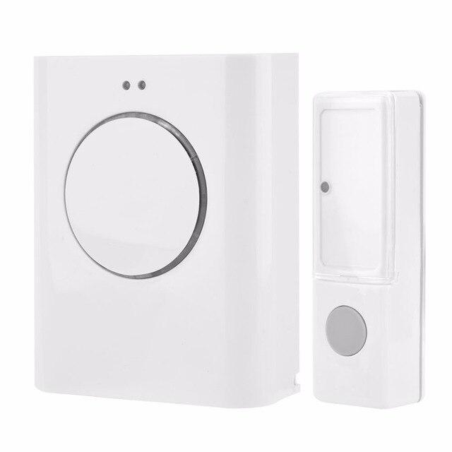 Sonnette étanche sans fil 433MHZ sonnette 200M à distance maison MP3 télécharger sans fil porte cloche anneau cloche