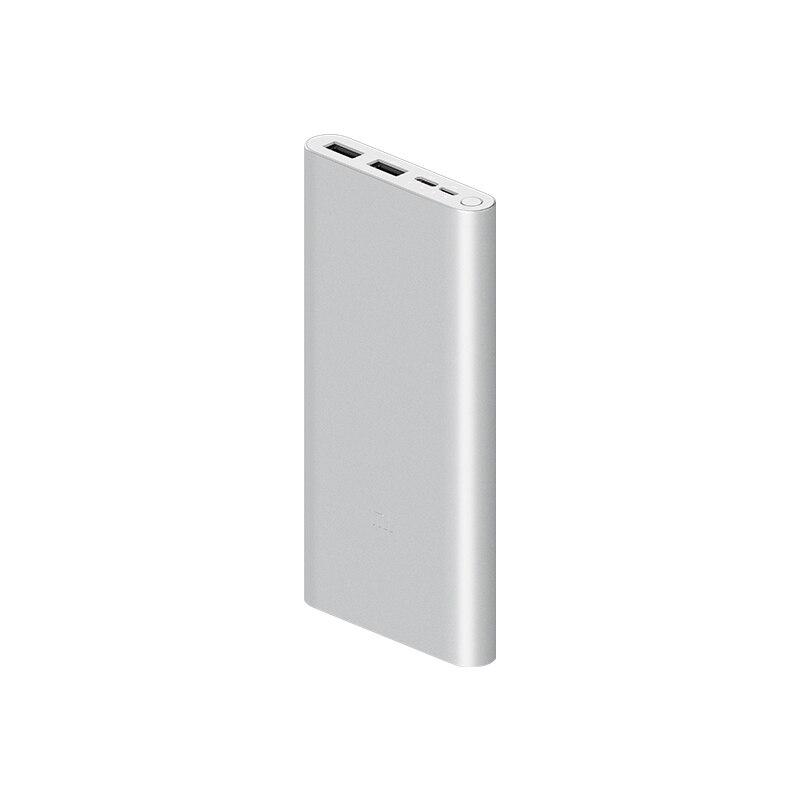 Image 2 - Xiaomi Original Mi Power Bank 3  18W 10000mAh Quick Charge Dual USB Aluminium Powerbank Fast Charger Portable External BatteryPower Bank   -