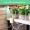 Умный садовый автоматический контроллер полива комнатных растений, зеркальная система таймера водяного насоса, солнечная энергия