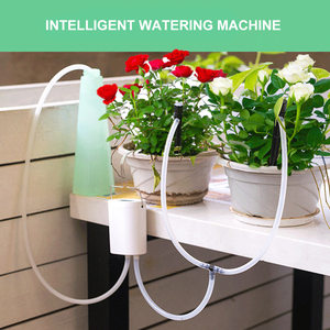 Intelligent Garden Automatic Watering Pump Controller Indoor Plants Drip Irrigation Device Water Pump Timer System Solar Energy(China)