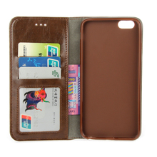 Samtsui PU Leather Outer TPU Lining Case For iPhone 6 6s Magnetic Flip Phone Cover 6Plus 6sPlus Full Protective Coque