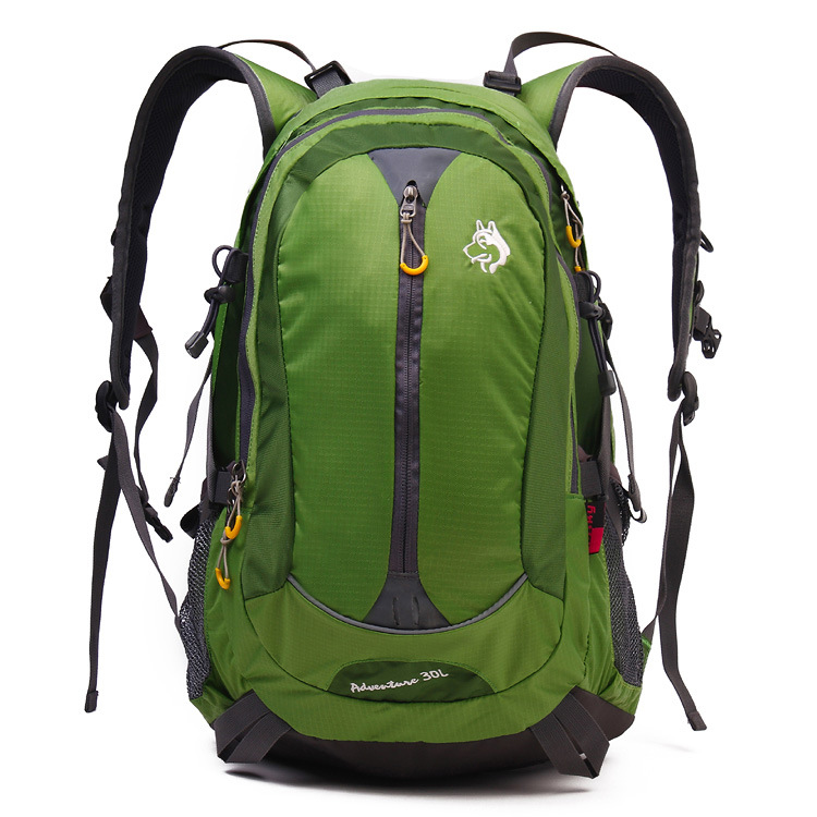 Xueqiaoquan Nylon Waterproof Sports Outdoor Mountaineering Bag Men And Women Riding Travel Shoulder Backpack 30L