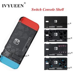 Image 1 - Ivyueen任天堂スイッチnsコンソール交換のためnintendoswitchコントローラ前面背面前面プレートカバー