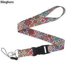 Blinghero классический стиль шнурок для ключей 90s Телефон Рабочий значок держатель шеи ремни с телефона шнурки для подвешивания шнурок BH0186