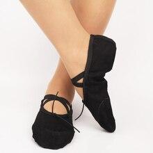Dance Shoes Girls Canvas Split Sole Ballet Fitness Gymnastics PCS For