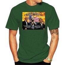 2021 moda lazer 100% algodão o-pescoço camiseta barack obama é para sempre meu presidente barack t barack obama