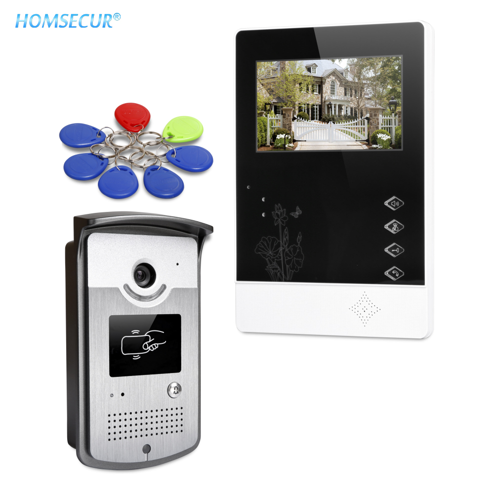 """7/"""" Wired Video Door Entry Phone Call System with Intra-monitor Audio Intercom"""