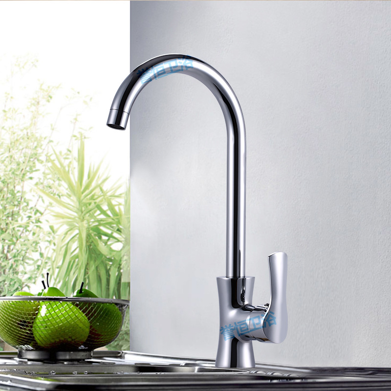 Kitchen Faucet Hot Selling Brass Jade Pillow Kitchen Faucet Hot And Cold Mixing Water Kitchen Sink Washbasin Faucet