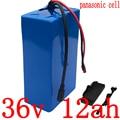 36V литиевая батарея 36V 6ah 9ah 11.6ah 12ah 14.5ah 15ah батарея для электрического велосипеда 36V 350W 500W батарея для скутера panasonic cell