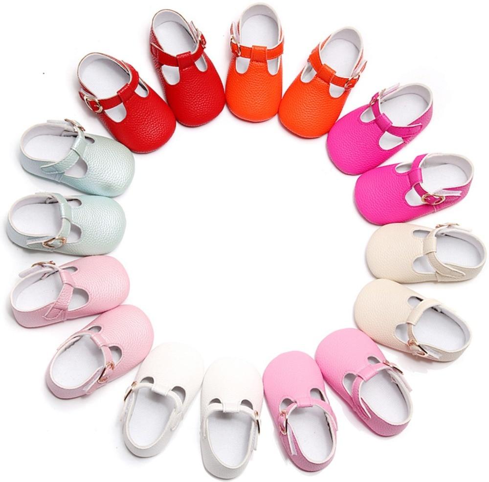 Newborn Baby Girls Shoes Moccasins Solid Infant Toddler Soft Sole Crib Bebe Footwear First Walker Prewalker Ballet Dress Shoe