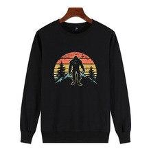 Aesthetic Sweatshirt New 100% Cotton Novelty Casual Women Streetwear Print Bigfoot GONE SQUATCHIN Sasquatch Champion Sweatshirt sasquatch fabrix толстовка