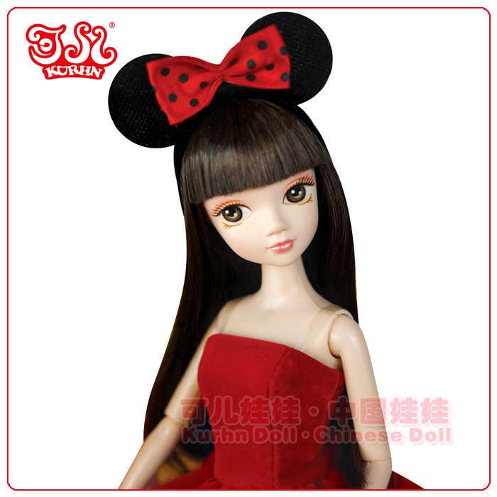 Especial promoción clásica Minnie muñecas kurhn para las niñas juguetes para los niños regalos de cumpleaños #6115