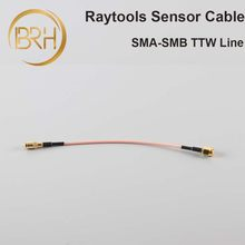 BRH Raytools Sensor Cable Transformer Wire SMB-SMA TTW Line For Raytools Fiber Laser Cutting Head BT230/BT240 BM110(China)