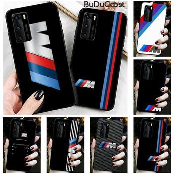 Riccu Top car BMW Phone Case for Huawei P30 P20 Mate 20 Pro Lite Smart Y9 prime 2019 image
