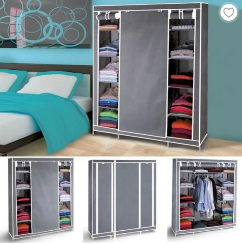 Non-woven Fabric Clothes Storage Box Shoes Rack Shelf Organizer Storage Clothes Shoe Cabinet Closet Home Wardrobe Furniture HWC