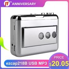 Audio-Music-Player Computer Usb-Cassette-Capture-Cassette-Tape-To-Mp3-Converter Ezcap218b