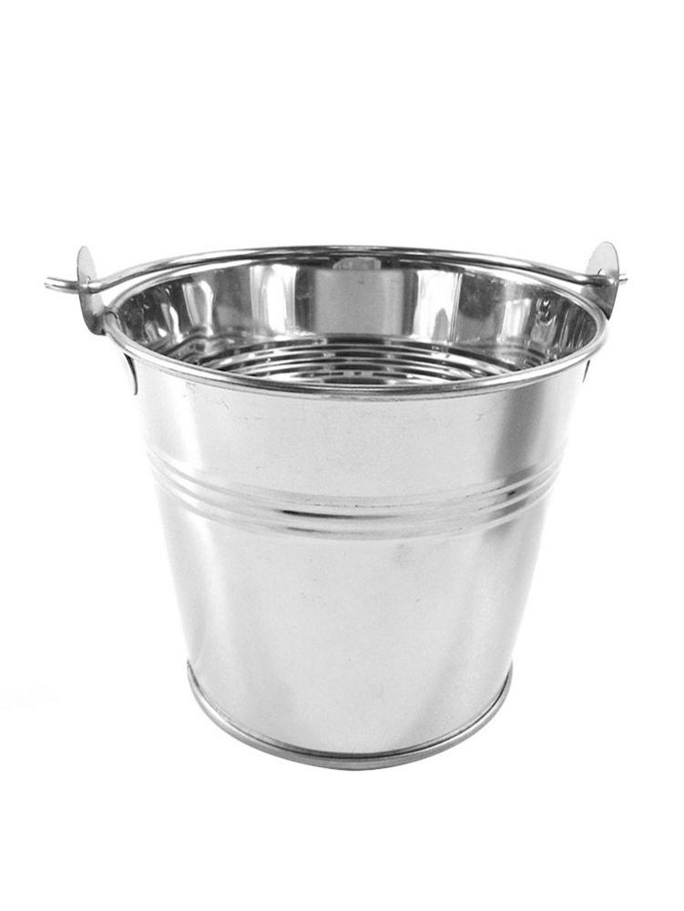 Mini Ice Bucket Fries Barrel Fast Food Cutlery For Hotel Bar Office Equipment Cube Picker Supplies French Tool