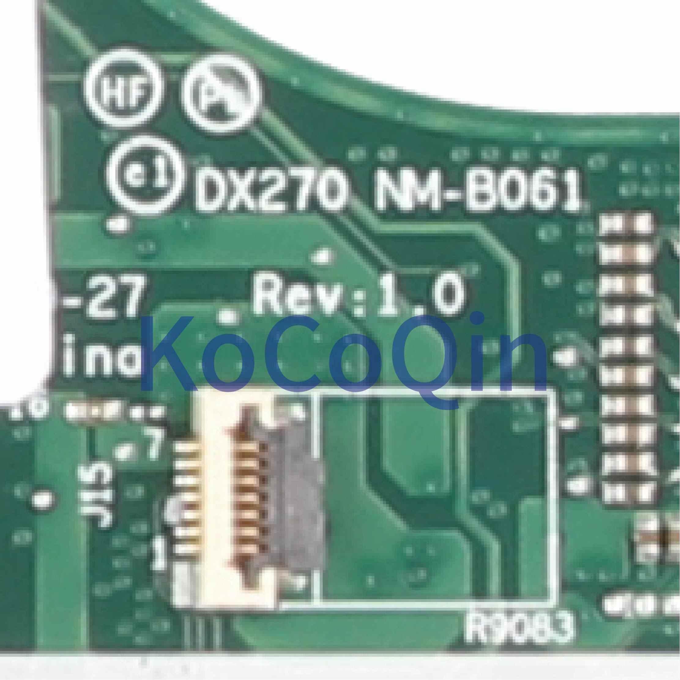 KoCoQin اللوحة الأم لأجهزة الكمبيوتر المحمول لينوفو ثينك باد X270 كور SR2EY i5-6200U 01LW725 01HY517 DX270 NM-B061
