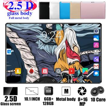 2020 Free Shipping Tablets Android 4G FDD LTE Android 9.0 Pie 128GB ROM 6GB RAM Octa Core 5G Wifi GPS 10 inch tablet