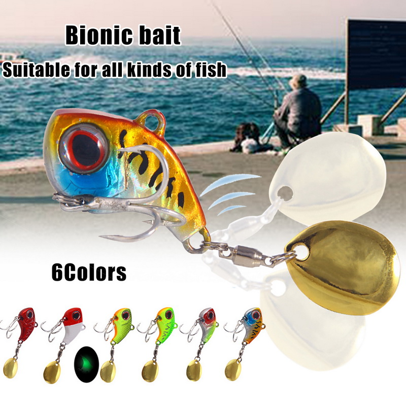 9/13/16/22g Fishing Lure Quickly Rotating Small Whirlwind Vibrating Sequins Lure Bait Metal Sea Fishing Fishing Accessories|Fishing Lures|   - AliExpress