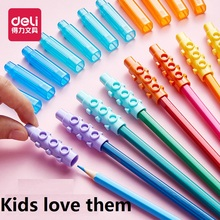48Pcs Blocks Pencil Cap Can Be Spliced As An Pen Extender Protect Pencil Head Bag Is More Clean Kids Toys Home Study School