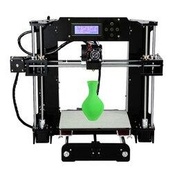 طابعة ثلاثية الأبعاد Anet A6L مع جهاز استشعار التسوية الذاتية Reprap Prusa i3 مجموعة الطابعة ثلاثية الأبعاد لتقوم بها بنفسك Impresora ثلاثية الأبعاد