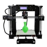 Oferta Anet A6L 3D Impresora con Auto nivelación de Reprap Prusa i3 3D Kit de Impresora DIY Impresora 3D