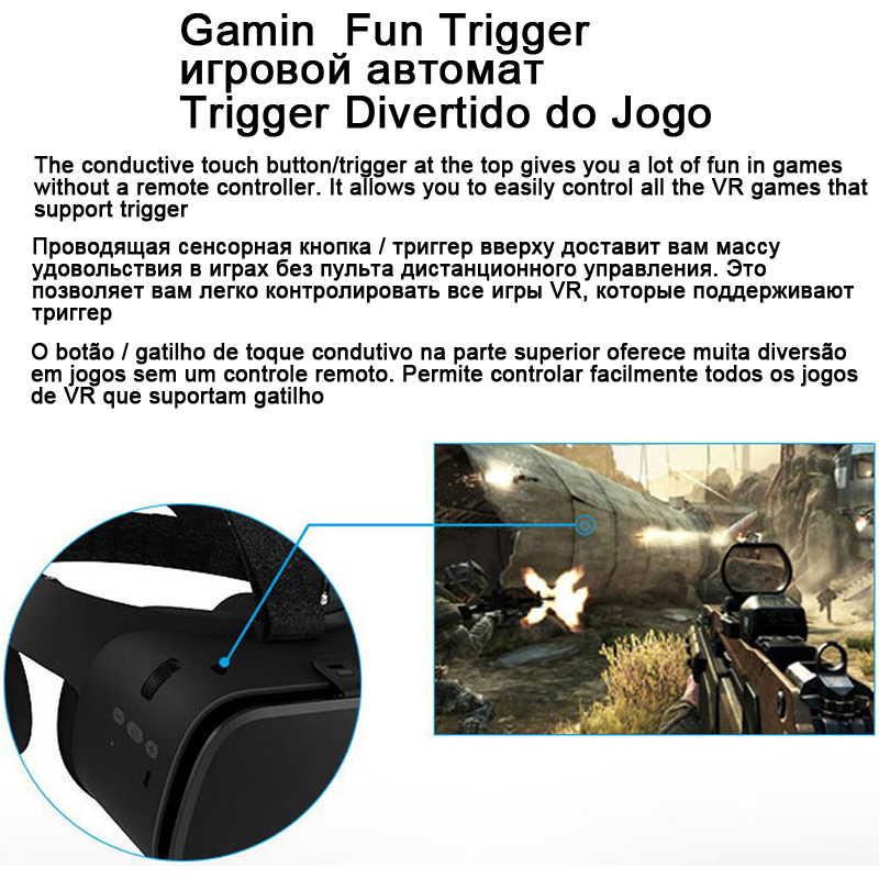 Bobo VR Bobovr Z6 Bluetooth 3 D casco Viar gafas 3D Realidad Virtual casco gafas lentes vídeo para teléfono Smartphone