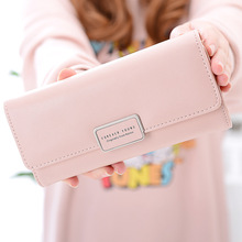 2018 ladies wallets women's long 30% discount Korean fashion hasp student wallets large capacity wallets