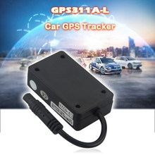 Waterproof Mini GPS Tracker GPS311A-L Real-time Tracking Device 180mAh Li-ion Battery Car Locator With ACC Alarm Data Load Auto(China)