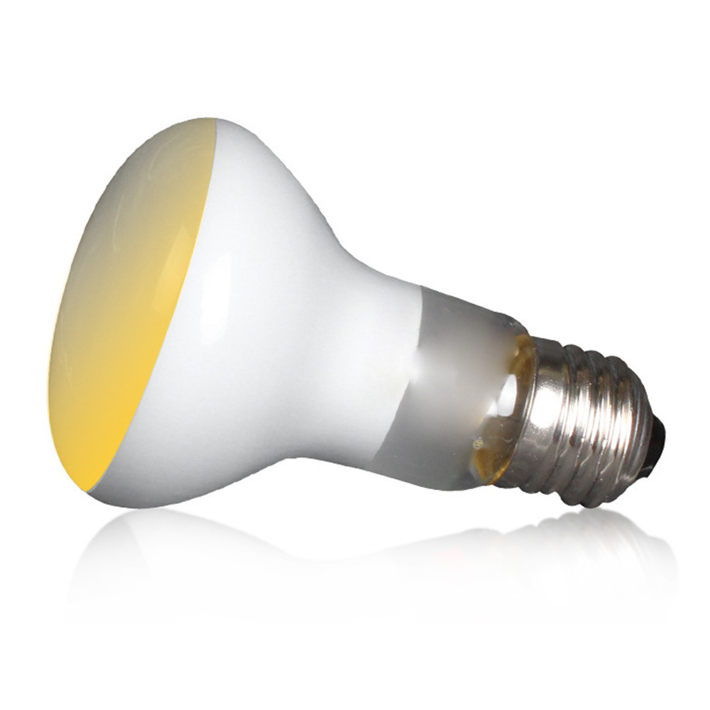 2 Pcs 50w Reptile Pet Uva Lamp Spot Heat Lamps Soft White Glow Uva Glass Heat Lamp Bulb Light Fluorescent Lamp Sun Lamp