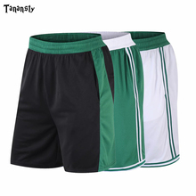 Team basketball shorts with pockets Men new summer solid style European size breathable basket cloth professional sports shorts
