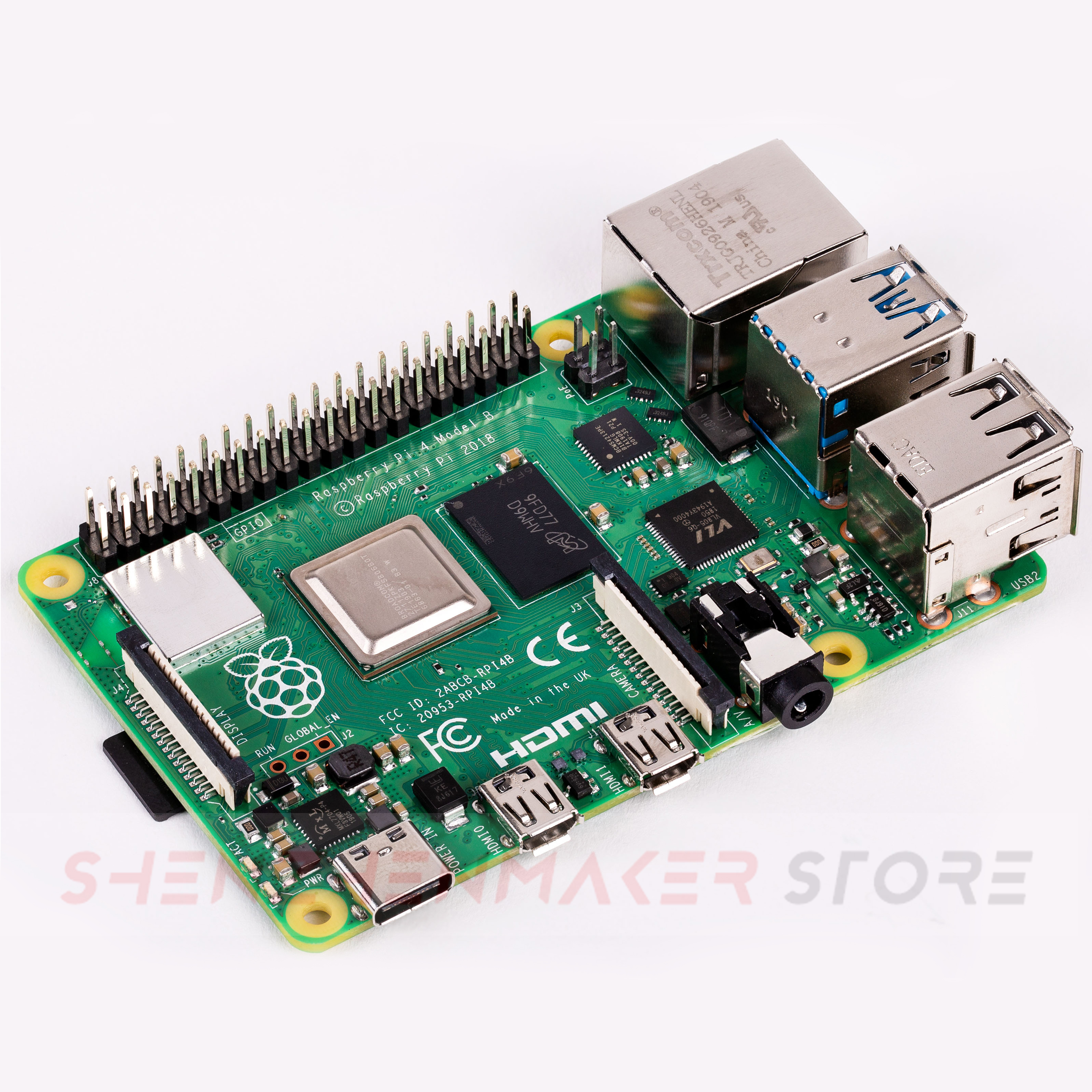 ShenzhenMaker Store Brand new Raspberry Pi 4 Model B 1GB 2GB 4GB RAM Type C Port Computer   IN STOCK-in 3D Printing Materials from Computer & Office