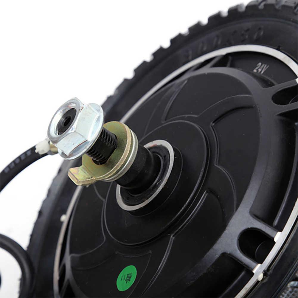 """8 """"24v 36v 48v 350w elektryczne koła do hulajnogi Bicicletta E rower silnik Bicicleta 8 calowy silnik piasty silnik Fahrrad"""