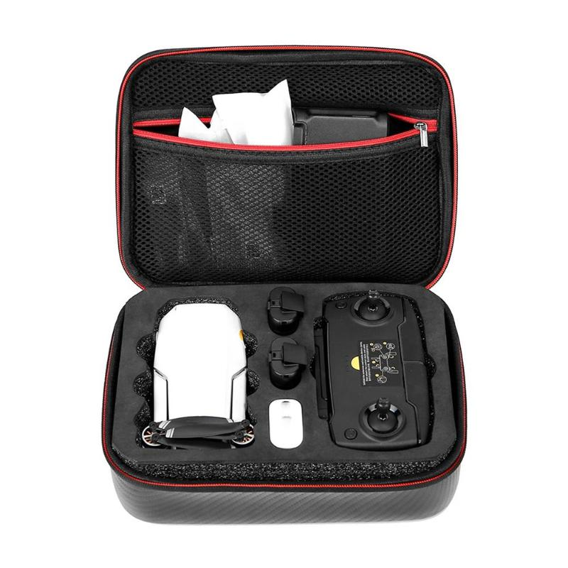Protective Storage Bag PU Waterproof Cover Carrying Case For DJI Mavic Mini Drone Remote Controller Accessories