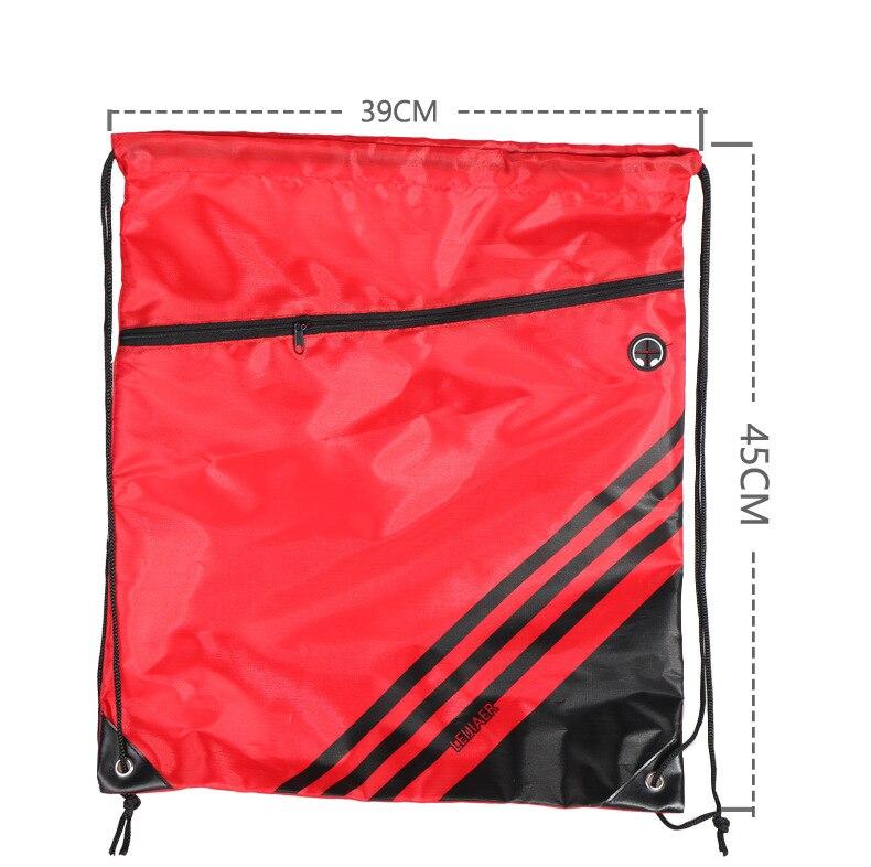 Спортивные сумки для занятий спортом на открытом воздухе, баскетбольный рюкзак для спортивных сумок, женская сумка для занятий фитнесом и йогой, спортивная сумка на шнурке-5