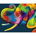 GATYZTORY Quadro de imagem Pintura Da Lona de Pintura Diy Por Números Acrílico Arte Retrato Da Arte Da Parede Presente Original Para Decoração de Casa