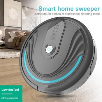 Smart Robot Vacuum Cleaner Poweful Suction home mopping Sweeping cleaning robot Automatic vacuum USB Rechargeable 3 in 1 robot vacuum cleaner usb rechargeable smart sweeping robot automatic sweeper strong suction home floor cleaning machine